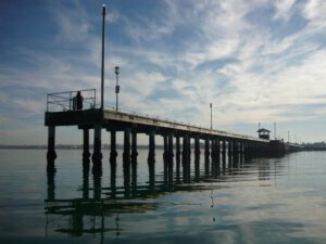 Mordialloc Pier Fishing Mordialloc Pier View From Water