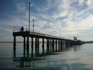 Mordialloc Pier View-From-Water