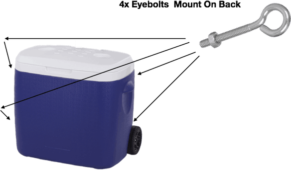 Fishing Trolley – Free, Easy Step By Step Diy Guide To Make Your Own At Home Eyebolts Mount